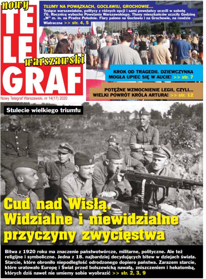 Nowy Telegraf Warszawski nr 14(17) Sierpień 2020
